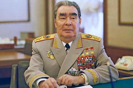 Leonid Breschnew war stolzer Besitzer von vier verschiedenen Jacketts mit einem jeweils unterschiedlichen Set von Medaillen und Orden. Foto: Photoshot / Vostok-Photo