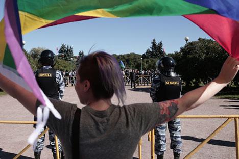 Paare in Ländern, die homosexuelle Ehen erlauben, werden keine russischen Kinder adoptieren können. Foto: ITAR-TASS