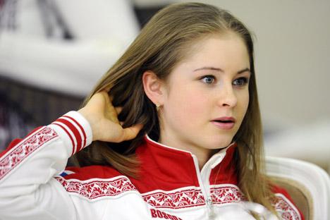 A imagem que Iúlia Lipnítskaia criou no programa de patinação livre nos Jogos de Sochi cativou o mundo Foto: ITAR-TASS