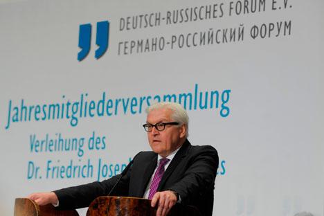 """Acordos de Minsk """"não são perfeitos"""", segundo ministro alemão Foto: V./ KD Busch"""