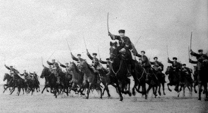 Die Kosaken kämpften im 20. Jahrhundert unerbittlich für ihre Sache. Foto: Getty Images / Fotobank