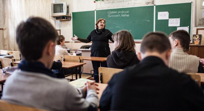 Russische Schule in Sewastopol. Foto: Sergej Sawostjanow / Rossijskaja Gazeta