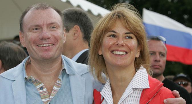 Russischer Oligarch Wladimir Potanin und seine Frau Natalja haben sich nach 30 Jahren Ehe scheiden lassen. Foto: PhotoXPress