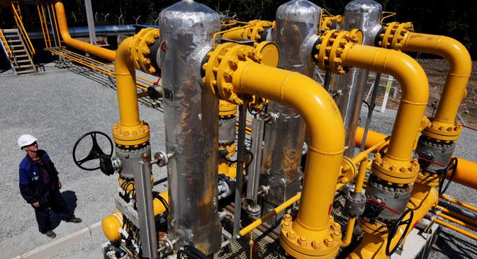 Moskau beschwichtigt, der Westen brauche keine Risiken bei Gaslieferungen zu fürchten. Foto: RIA Novosti