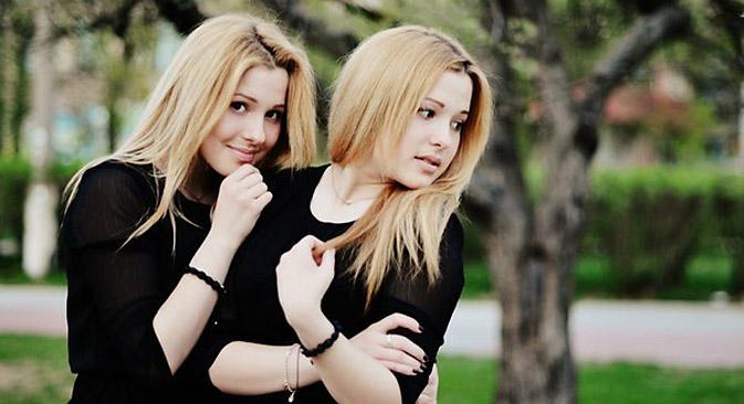 Die Tolmatschow-Zwillinge treten für Russland beim Eurovision Song Contest an.  Foto: Pressebild