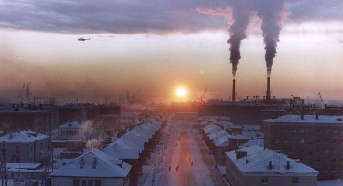Dudinka wurde 1951 offiziell zu einer Stadt erklärt. Foto: Anna Grusdewa
