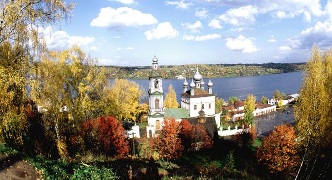 Der Kleinod Pljos lockt seit Jahrhunderten Maler, Musen und Mäzene an. Foto: strana.ru