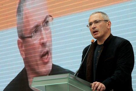 Michail Chodorkowski: Putin benutzt in der Ukraine seine Macht, um sich für eine persönliche Beleidigung zu rächen. Foto: AP
