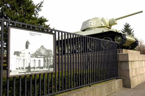 Sowjetisches Ehrenmal in Berliner Tiergarten. Foto: Alamy/Legion Media