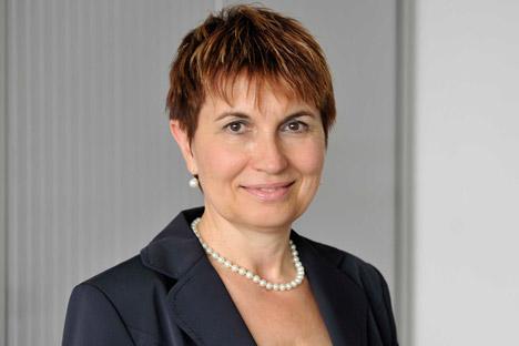 Leiterin des Russland-Kompetenzzentrums von IHK Dr. Andrea Gebauer. Quelle: Pressebild