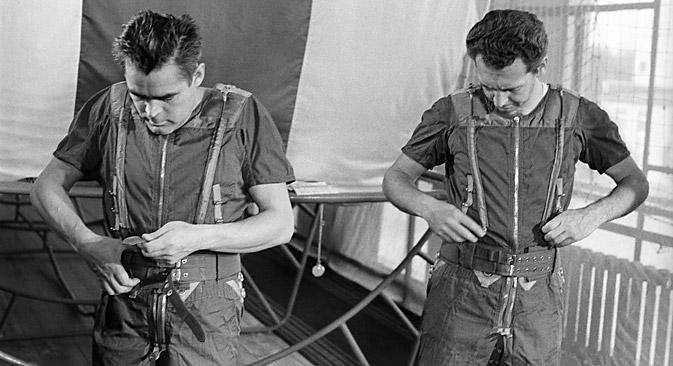 Die Pioniere der Raumfahrt waren eigentlich die Testpersonen. Foto: ITAR-TASS