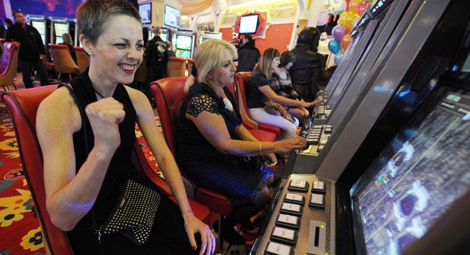 Seit dem 1. Juli 2009 ist das Glücksspiel in Russland außerhalb der bisher vier eigens dafür zur Verfügung gestellten Zonen verboten. Foto: ITAR-TASS