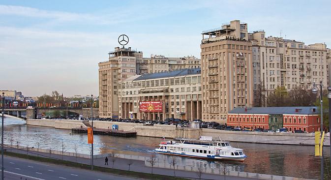 Bersenewskaja-Uferstraße, 2: so lautete eine der sagenhaftesten Adressen im sowjetischen Moskau. Foto: Lori / Legion Media