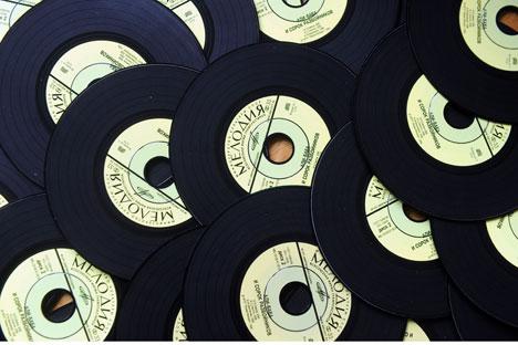 """Die Schallplatten von der Firma """"Melodija"""" kannte jeder in Sowjetunion. Foto: ITAR-TASS"""