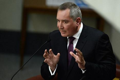 Der russische Vizepremierminister Dmitrij Rogosin hat angekündigt, ab dem 1. Juni den Betrieb von 19 US-amerikanischen GPS-Bodenstationen zu stoppen. Foto: ITAR-TASS
