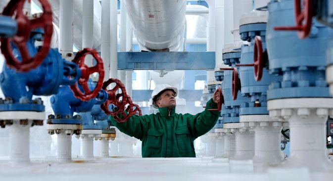Gazprom stellt die Zahlungsmodalität um, der Streit um das Gas geht weiter. Foto: AP