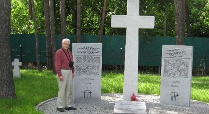 Gedenken in Jekaterinburg. Foto aus dem persönlichen Archiv.