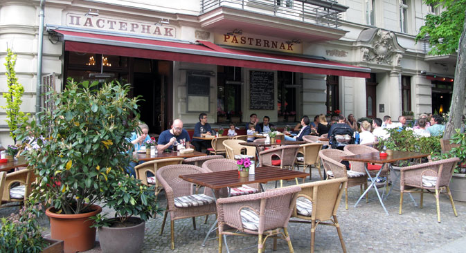 "Der Restraurant ""Pasternak"" in Berlin. Foto: Olga Schtyrkina"