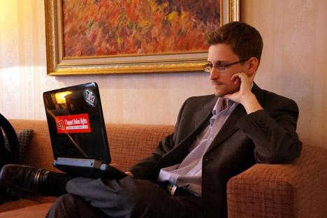 Snowden recebeu asilo na Rússia em agosto de 2013 Foto: Getty Images/Fotobank