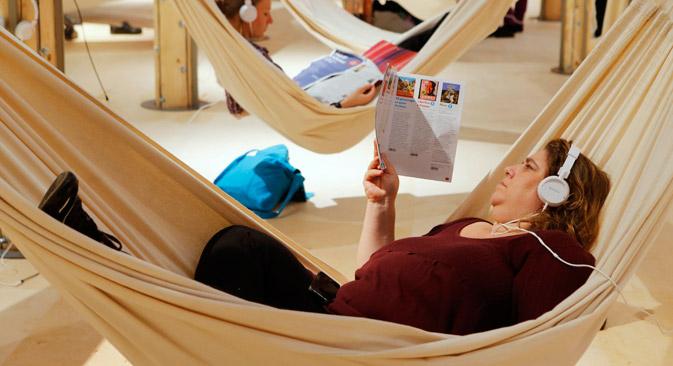 Auf der Frankfurter Buchmesse 2013. Foto: AP