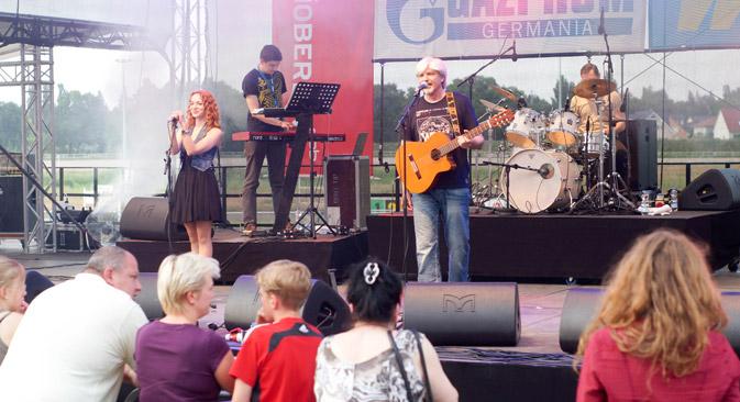 Besonderes Highlight bei Feier war die russische Rocknacht. Foto: Dmitry Vachedin