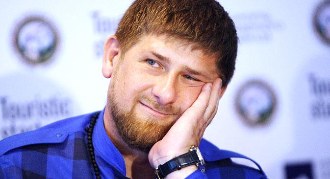 Kadyrow sagte einmal, er warte auf den Befehl Wladimir Putins und sei bereit, 74 000 tschetschenische Freiwillige offiziell in die Ukraine zu schicken. Foto: RIA-Nowosti