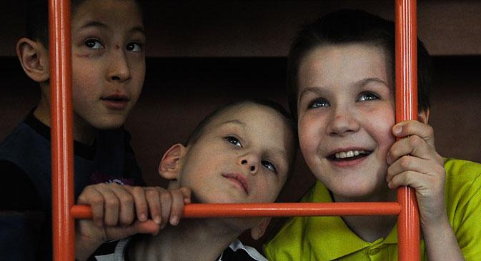 In Russland gibt es etwa 560 000 solcher Sozialwaisen, deren Eltern zwar noch leben, die sich aber nicht um ihre Kinder kümmern wollen oder können. Foto: ITAR-TASS