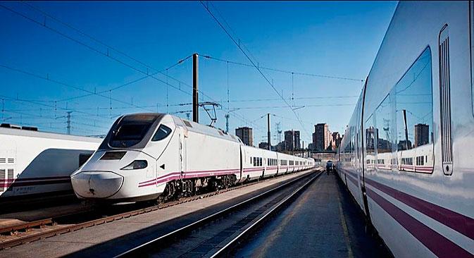 Statt nach Kiew fährt ein neuer Hochgeschwindigkeitszug bald nach Berlin. Foto: Pressebild