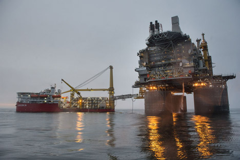 Im Rahmen von Sachalin-1 wurden bislang insgesamt 64 Millionen Tonnen Öl gewonnen, das Fördervolumen nimmt jedoch kontinuierlich ab. Foto: Rosneft.ru