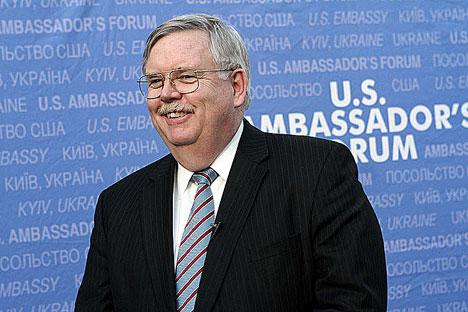 Tefft gilt als Fachmann für den postsowjetischen Raum und war von 2009 bis 2013 US-Botschafter in der Ukraine. Foto: U.S. Embassy Kyiv Ukraine