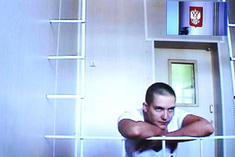Savtchenko, 31, cumpriu serviço militar no contingente de paz ucraniano no Iraque Foto: ITAR-TASS