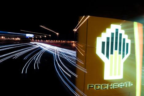 2013 bekam die größte russische Erdölunternehmen Rosneft einen Kredit von China in Höhe von 11,1 Milliarden Euro. Foto: Grigori Sysojew/RIA Novosti