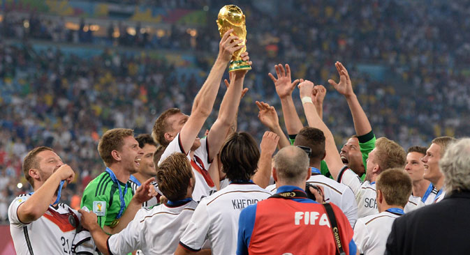 The German national team was ranked among the favorites to win even before the World Cup began. Source: Photoshot