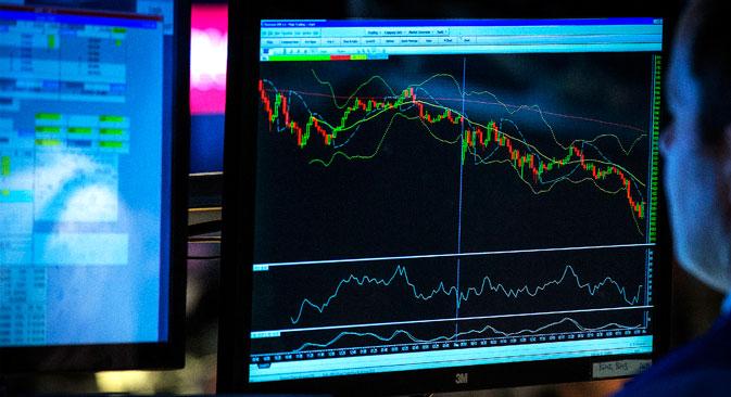 Russland drohen neue Sanktionen, die russischen Börsen gehen auf Talfahrt. Foto: Reuters
