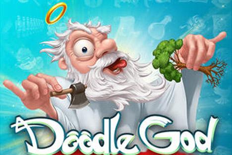 Jeder kann den Platz Gottes einnehmen, versichern die Spieleentwickler von Doodle God. Tatsächlich findet sich der User in den Schöpfungsprozess seiner eigenen Welt einbezogen, genau wie etwa hundert Millionen andere Nutzer auf der ganzen Welt. Foto: Pressebild