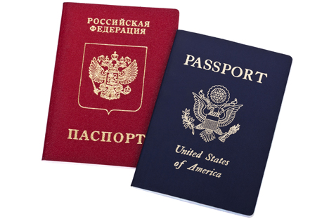 New law requires Russians to declare other passports to officials. Source: PhotoXPress