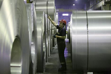 """""""Wenn auch China das Metall weiterhin im Überschuss produziert, wird man die negativen Auswirkungen sehr bald zu spüren bekommen"""", meinen Experten. Foto: Alexander Krjazhev / RIA Novosti"""