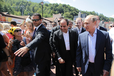 Russische Medien sehen den Einfluss der USA in Ägypten schwinden. Foto: Olessja Kurpjajewa/Rossijskaja Gaseta