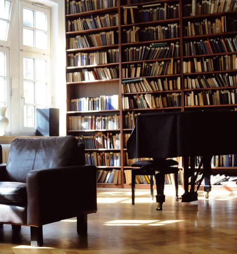 Lesesaal der Tolstoi-Bibliothek. Foto: Pressebild