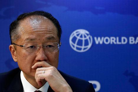 Der Westen will Russland nicht mehr finanziell unterstützen. Auf dem Bild: Weltbank-Präsident Jim Yong Kim. Foto: Reuters