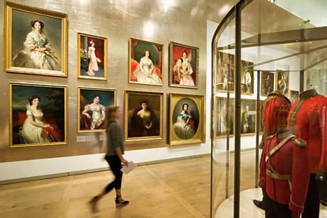 Für die Dauerausstellungen von Objekten aus der Sammlung der Eremitage in der Amsterdamer Filiale liegen Staatsgarantien vor. Sie können auf keinen Fall beschlagnahmt werden. Foto: Reuters
