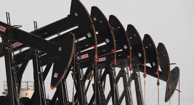 Russland plant 2,5 bis drei Millionen Tonnen Erdöl jährlich aus dem Iran anzukaufen. Foto: AP
