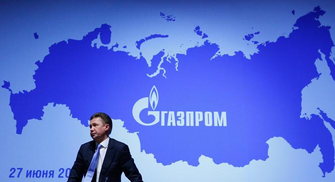 Die Ukraine-Krise trübt den Quartalsbericht bei Gazprom ein. Foto: Reuters