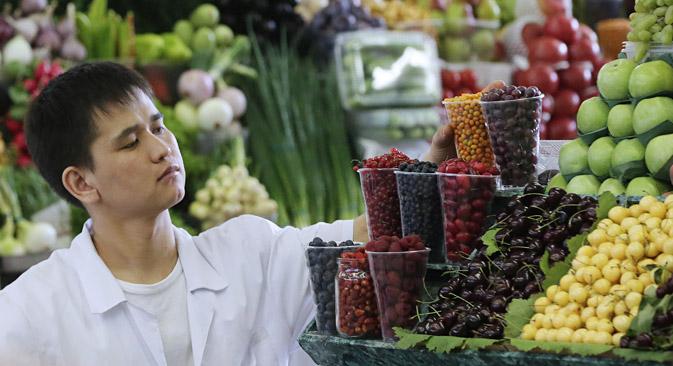 Durch ein neuen Monitoring-System soll die Inflationsrate beobachtet werden. Foto: ITAR-TASS