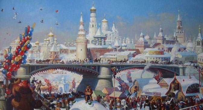 """Foto: Kirill Kiseljow """"Jahrmarkt"""", 2004 / Wikimedia.org"""