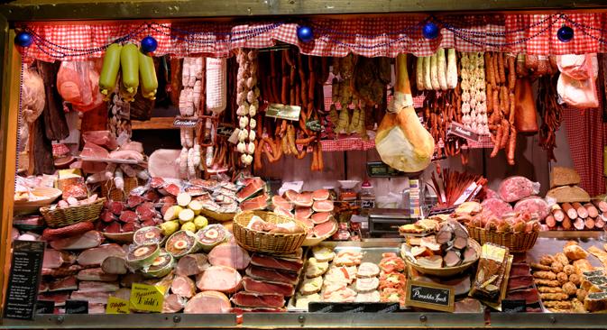 Russlands Lebensmittel-Importverbot: Die EU-Länder müssen mit Verlusten in Höhe von zwölf Milliarden Euro rechnen. Foto: Shutterstock