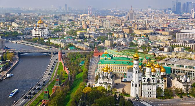 UNESCO soll Wiederaufbau zerstörter Klöster auf Kremlgelände zustimmen. Foto: Shutterstock/ Legion Media