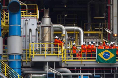 Nächstes Jahr plant Gazprom International außerdem die Realisierung eines Gasförderprogramms in Bolivien, mit der Förderung solle dort bereits 2016 begonnen werden. Foto: AP