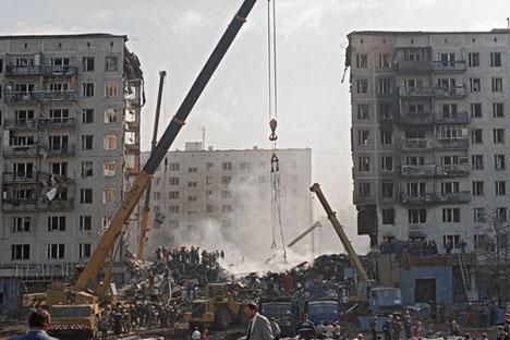 Die Erinnerung an die Terroranschläge vom September 1999 ist noch wach. Foto: Dmitri Korobejnikow/RIA Novosti