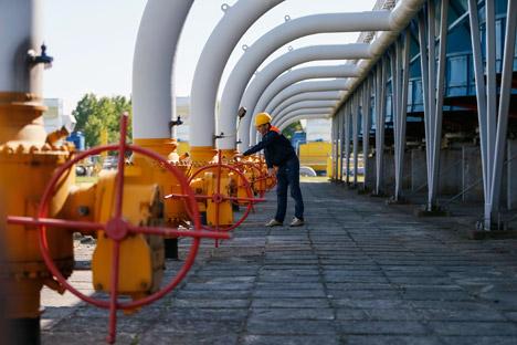 Vor Beginn der Kälteperiode müsse die Ukraine etwa zehn Milliarden Kubikmeter Gas in die unterirdischen Speicher pumpen. Grigorij Birg von Investcafé schätzt, dass sich Ende Juli nur noch 14 Milliarden Kubikmeter in den Gasspeichern befanden. Foto: Reuters